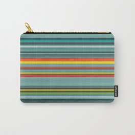 Southwestern teal and orange pattern Carry-All Pouch