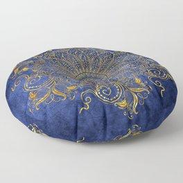 Blue velvet Floor Pillow