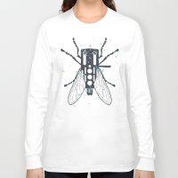 deadmau5 Long Sleeve T-shirts featuring Cartridgebug by Sitchko Igor