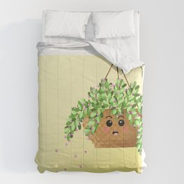 Adorable Hanging Plant  Comforters