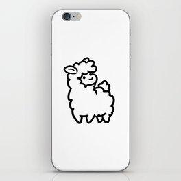 Squishy Llama iPhone Skin