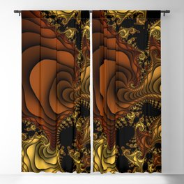 Cornucopia Fractal Blackout Curtain