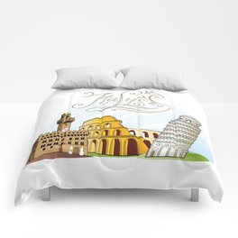 Italy with significant buildings Comforters