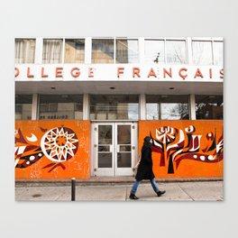 Collège Français Canvas Print