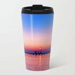 Aegean sunset Metal Travel Mug