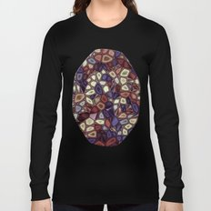 Fractal Gems 01 - Fall Vibrant Long Sleeve T-shirt