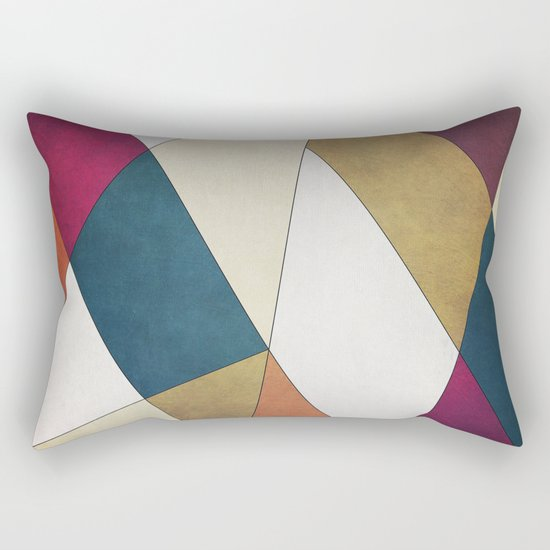 Geometric A/W Rectangular Pillow