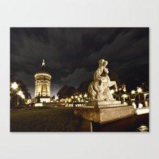 Mannheim Wasserturm Canvas Print