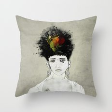 I'm not what you see Throw Pillow