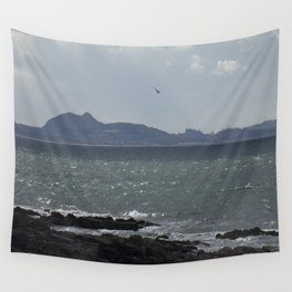 Arthur's Seat in the Distance Wall Tapestry