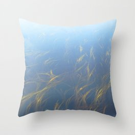 Watercolor Landscape, Kejimkujik 04, Nova Scotia, Canada Throw Pillow