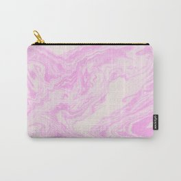 Akiko - spilled ink art print monoprint handmade japanese paper marble paper texture pattern map Carry-All Pouch