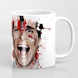 American Psycho Patrick Bateman serial killer digital artwork Coffee Mug