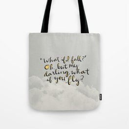 What If You Fly Tote Bag