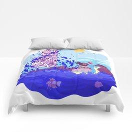 Tiny Worlds - Cinnabar Island Comforters