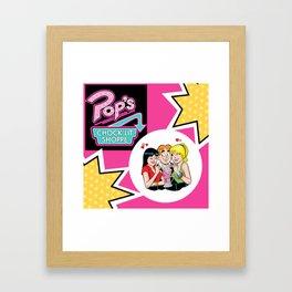 Pops Diner Framed Art Print