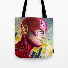 Barry Allan-THE FLASH Tote Bag