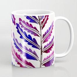 Fern Leaf – Indigo Palette Coffee Mug