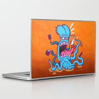 cooking Laptop & iPad Skins featuring Extreme Cooking by Zoo&co on Society6 Products