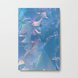 Holographic Artwork No 5 (Crystal) Metal Print