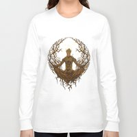 groot Long Sleeve T-shirts featuring Groot Mandala by Megmcmuffins