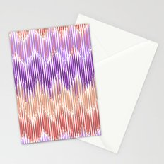 Sunset Stripes Stationery Cards