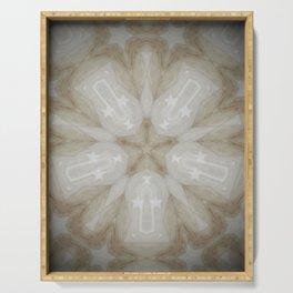 Shining Star // Visionary Art Magical Symbol Circle Energy Healing Chakra Crystal Grid Light Peace Serving Tray