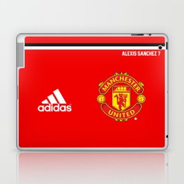 Alexis Sanchez Edition - Manchester United Home 2017/18 Laptop & iPad Skin