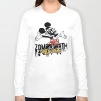 fallout Long Sleeve T-shirts featuring Fallout by Iamzombieteeth Clothing