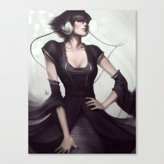 Pepper Vogue Canvas Print