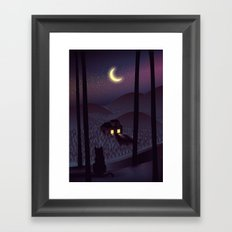 Silent Watcher Framed Art Print