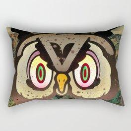 Owl Howl Rectangular Pillow