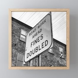Fines Doubled Framed Mini Art Print