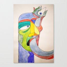Arm in Eye Canvas Print