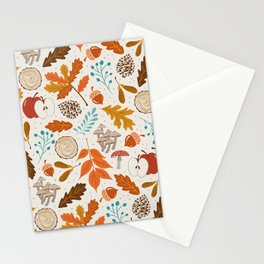 Autumn Woods Stationery Cards