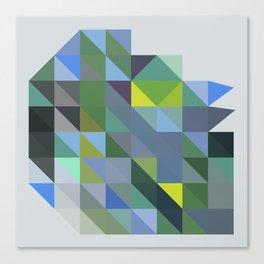 Triangulation  03 Canvas Print