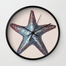 Nautical Starfish Wall Clock