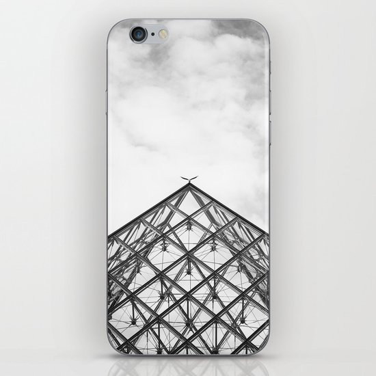 Louvre Pyramid Paris France iPhone & iPod Skin