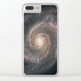 Whirlpool Galaxy Clear iPhone Case