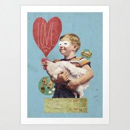 love in it Art Print