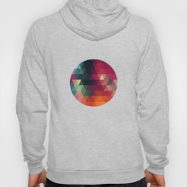 Vector retro pattern of geometric shapes. Colorful mosaic banner. Geometric hipster retro background Hoody