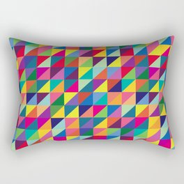 Geometric Pattern #7 Rectangular Pillow