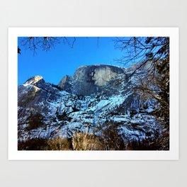 Yosemite National Park - Half Dome Art Print