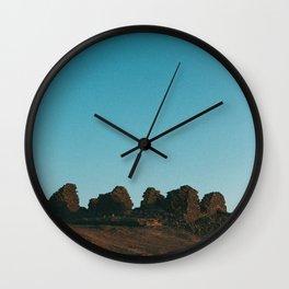 Bahariya sunset Wall Clock