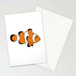 One Clownfish Stationery Cards
