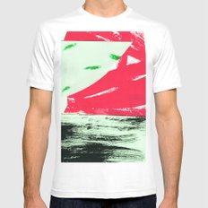 watermelon collage Mens Fitted Tee MEDIUM White