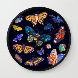 Butterflies Day Wall Clock