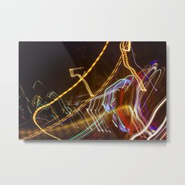 London Lights Metal Print
