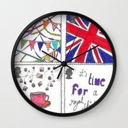 A Royal Shindig Wall Clock