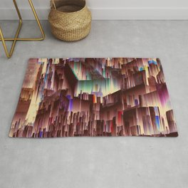 49. Chaotic Purity Rug